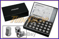 Rays Volk Racing 19hex Double Lock Lug Nuts 12x1.5 1.5 Acorn Wheel Rim Chrome M