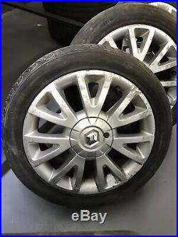 Renault Clio Mk 3 Alloys Sliver 16 Inch OEM Key, Locking Wheel Nut Included