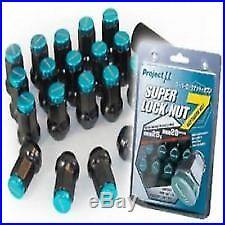 SALE B- PROJECT Mu RACING SUPER WHEEL LOCK NUTS M12X1.25MM FOR SUBARU NISSAN