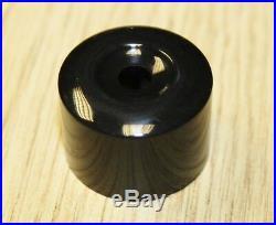 SEAT IBIZA LEON ALTEA EXEO BLACK WHEEL NUT BOLT COVERS LOCKING CAPS 17mm x 20