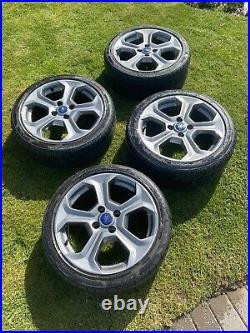 ST180 Alloy Wheels + Locking Nuts
