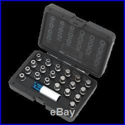 SX209 Sealey Locking Wheel Nut Key Set 21pc BMW & Mini