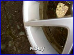 Saab 93 aero alloy wheels and full set of locking wheel nuts