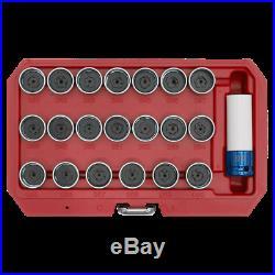 Sealey 21pc Locking Wheel Nut Key Set BMW SX217 1 Year Warranty High Quality