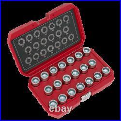 Sealey Locking Wheel Nut Key Set 20pc-Porsche SX221 1 Year Warranty High Quality