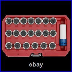 Sealey Locking Wheel Nut Key Set 20pc VAG SX219 1 Year Warranty High Quality