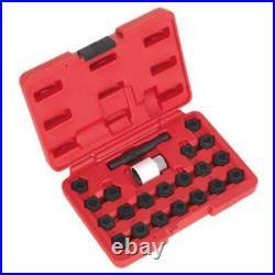 Sealey Locking Wheel Nut Key Set 22pc Audi-SX206