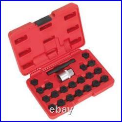 Sealey Locking Wheel Nut Key Set 22pc BMW-SX207