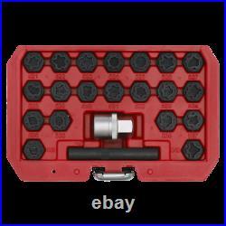 Sealey Locking Wheel Nut Key Set 22pc VAG SX220 1 Year Warranty High Quality