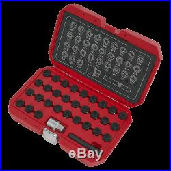 Sealey Locking Wheel Nut Key Set 32pc-Mercedes SX213 1 Year Warranty HighQuality