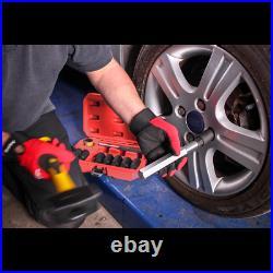 Sealey Locking Wheel Nut Removal Set 10pc Garage Workshop DIY