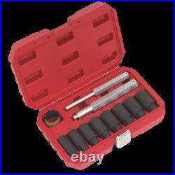 Sealey Locking Wheel Nut Removal Set 10pc SX272