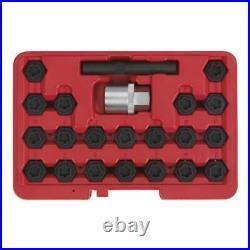 Sealey SX207 Locking Wheel Nut Key Set 22pc BMW