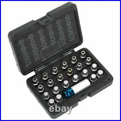 Sealey SX210 Locking Wheel Nut Key Set 23pc VAG