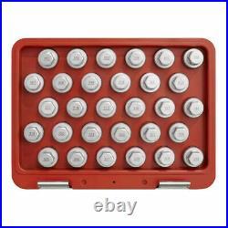 Sealey SX212 Locking Wheel Nut Key Set 30pc Mercedes