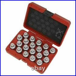 Sealey SX214 Locking Wheel Nut Key Set 20pc Vauxhall-A