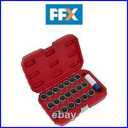 Sealey SX217 21pc Locking Wheel Nut Key Set BMW