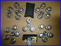 Set Wheel Nuts/locking Wheelnuts-genuine Land Rover-defender+caps+key-alloys