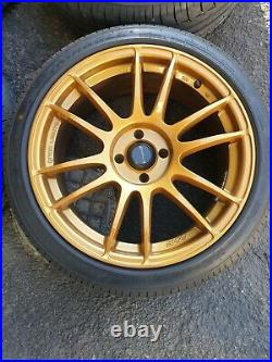 Set of 4 17 Mk2 Mazda MX-5 alloy wheels with 4 nearly new tyres & locking nuts