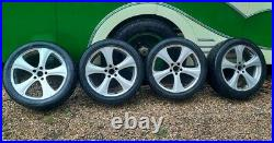 Set of Range Rover 20 alloys +wheel nuts and locking wheel nuts