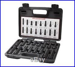 Steelman Pro 16pc Aftermarket Locking Wheel Lug Nut Master Key Set #78537