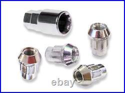 Sumex Anti Theft Locking Wheel Nuts / Bolts + Key (12 x 1.25) for Nissan X-Trail
