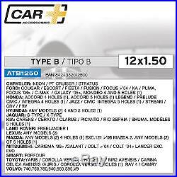 Sumex Anti Theft Locking Wheel Nuts Bolts + Key 12x1.50 for Chrysler PT Cruiser