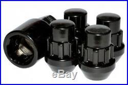 Superforma Capped Steel Locking Wheel Nuts M12x1.25 Black