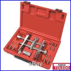 TOLEDO Wheel Bearing Lock Nut Wrench Set Adjustable 311014