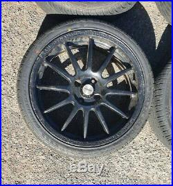 Team Dynamics Pro Race 1.2 17 Alloy Wheels With Tyres & locking wheel nuts