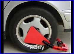 The Club Tire Claw XL Wheel Lock with Lug Nut Protector Plate