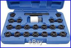 Tool Hub 9605 VAG Locking Wheel Nut Socket Set 21 Piece