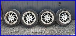 Toyota Yaris Alloy Wheels Set Tyres 195 50 16 inc. Set of nuts & lock wheel nuts
