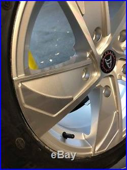 Transit Custom / Transit Wolfrace Eurosport Alloy Wheels & TYRES 18 locking nut