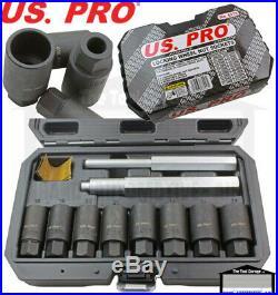 US PRO Tools Locking Wheel Nut Removal Sockets, (Socket, Alloy Wheels) NEW 6178