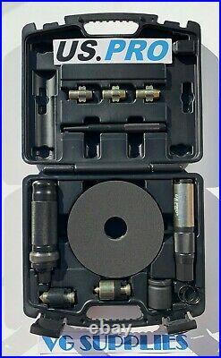 US PRO Tools Universal Locking Wheel Nut Remover Master Kit NEW 3651