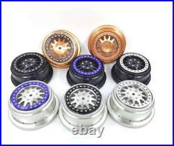 VITAVON CNC alu bead lock wheel for Losi Baja Rey110 sells 5pcs blue