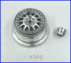 VITAVON CNC alu bead lock wheel for Losi Baja Rey110 sells 5pcs per set silver