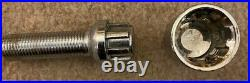 VW Golf Mk7 GTI R GTD Hubcentric Wheel Spacers, extended bolts, locking nuts