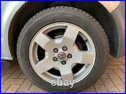 VW Transporter 18 alloys and tyres, locking wheel nuts, Pirelli Scorpions 7mm