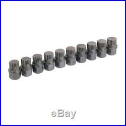 Vag Master Locking Wheel Nut Socket Spline Bit Set