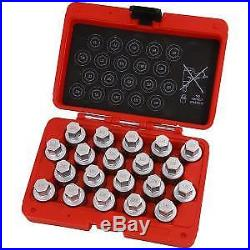 Vauxhall B 20pc Locking Wheel Nut Key Set CT4766