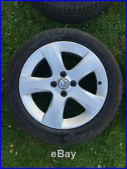 Vauxhall Corsa D Sxi 16 Alloy Wheels, Brand New Tyres & Locking Wheel Nuts