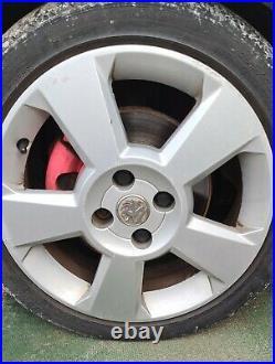 Vauxhall corsa 1.8 sri original 16 inch set of 4 alloy wheels with locking nuts