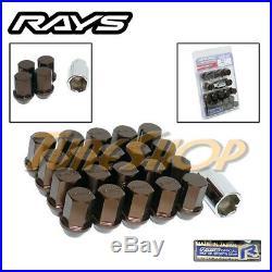 Volk Rays 35mm Wheels Lock Lug Nuts 12x1.5 1.5 Acorn Rim Forged Dura Bronze 20 L