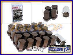 Volk Rays 35mm Wheels Lock Lug Nuts 12x1.5 1.5 Acorn Rim Forged Dura Bronze 20 M