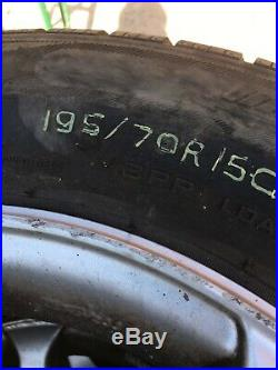 Volkswagen transporter T4 Alloy Wheels And Tyres With Nuts And Locking Nuts