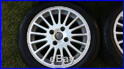 Volvo Alloy Wheels & Tyres & Locking Wheel Nuts V40 / S40 2002. Reduced