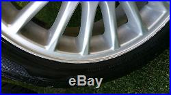 Volvo Alloy Wheels & Tyres & Locking Wheel Nuts V40 / S40 2002. Reduced