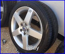 Volvo V50 17 wheels/tyres/nuts/lock nuts